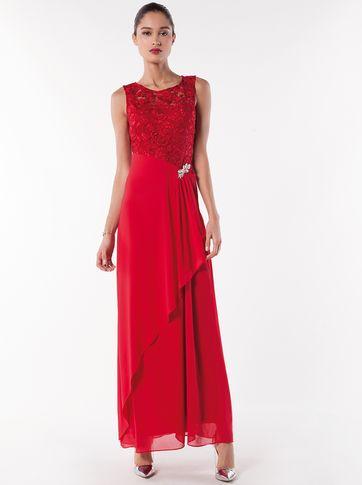 Les couleurs : rose pâle-royal-rouge-noir